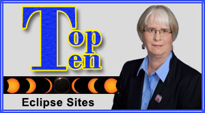 Picture of Linda Zellmer with Top Ten graphic to the left