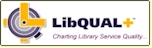 LibQUAL logo - Charting Library Service Quality