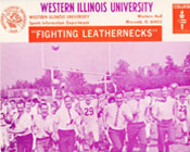 1970 photo of the WIU Leathernecks football team