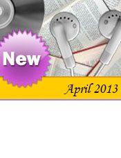 Newly acquired items for the month of April, 2013 have now been listed!