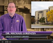 Screenshot from video showing Dr. Michael Lorenzen.