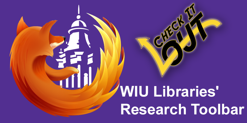 Graphic of Firefox surrounding WIU belltower.