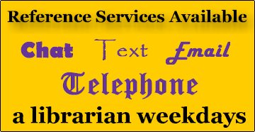 Virtual Reference Services Available