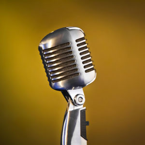 Image of Antique Microphone