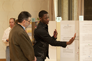 Undergraduate Research Day poster presentation.