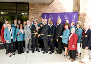 Ribbon cutting at the Caxton Building, Moline, IL.