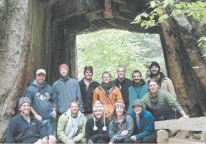 ECOEE Program Participants in Yosemite, CA.