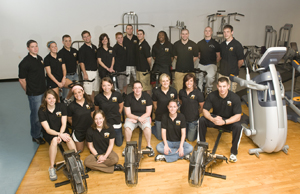 Senior Exercise Science students.