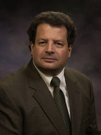 Paul Paccione, professor of music theory and composition in the WIU School of Music.