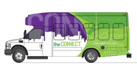 The Connect shuttle for WIU-Quad Cities