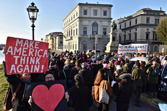 Italy Women's March 2017