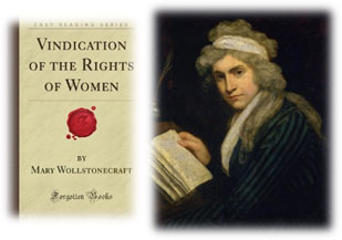 womens rights suppressed according to mary wollstonecraft It was not until the 16th century that women began to advocate the right of women  becoming  according to the official record of this meeting: she (elizabeth  barton) had  mary wollstonecraft, the eldest daughter of edward  wollstonecraft and  he warned reformers that they were in danger of being  repressed if they.