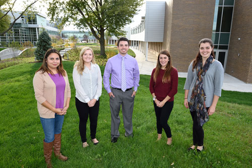 SGA Officers, Fall 2014