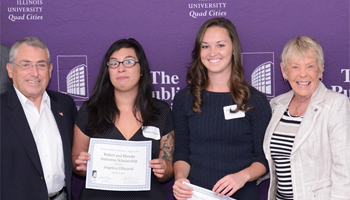 Scholarships at at WIU-Quad Cities