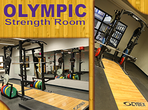 WIU Campus Recreation Olympic Strength Room