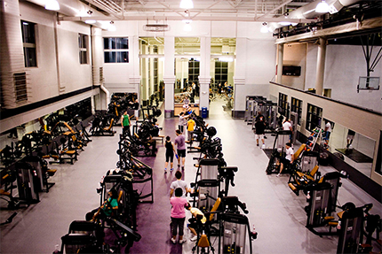 Spencer Student Recreation Center Weight Room