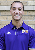 Facilities Graduate Assistant Carmello Rizzo