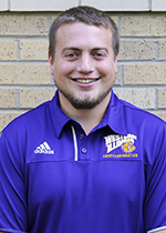 IM/Rec Events Graduate Assistant Eric Vaughn