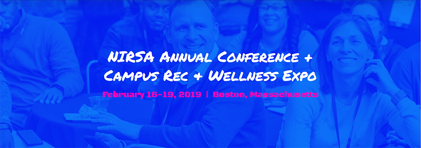 NIRSA 2019 Feb. 16-19 l Boston, MA