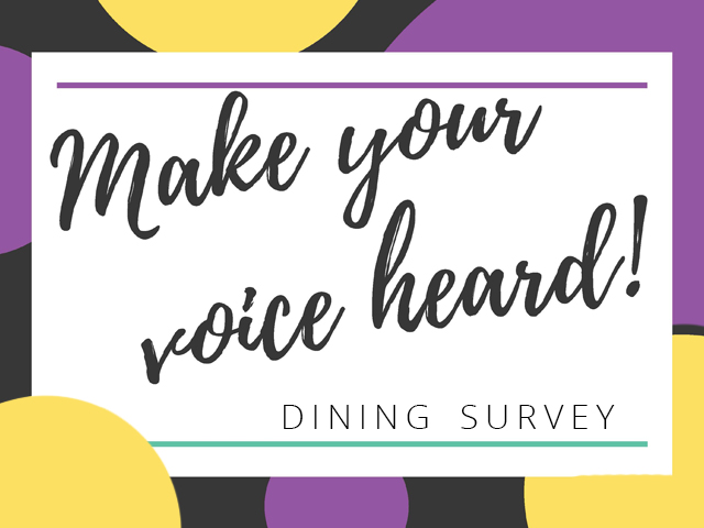 Dining Survey