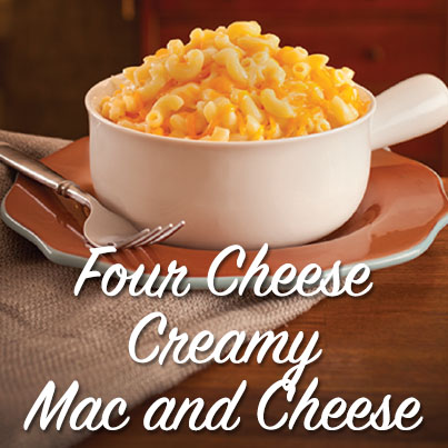 Four Cheese Creamy Mac and Cheese