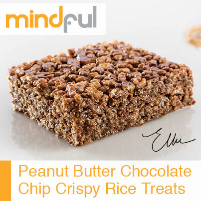 Peanut Butter Chocolate Crispy Treat