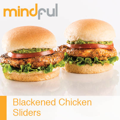Blackened Chicken Sliders