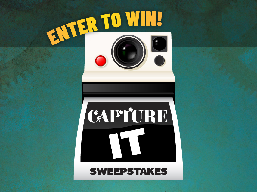Capture It Sweepstakes