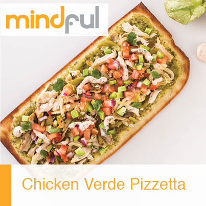 Chicken Verde Pizzetta