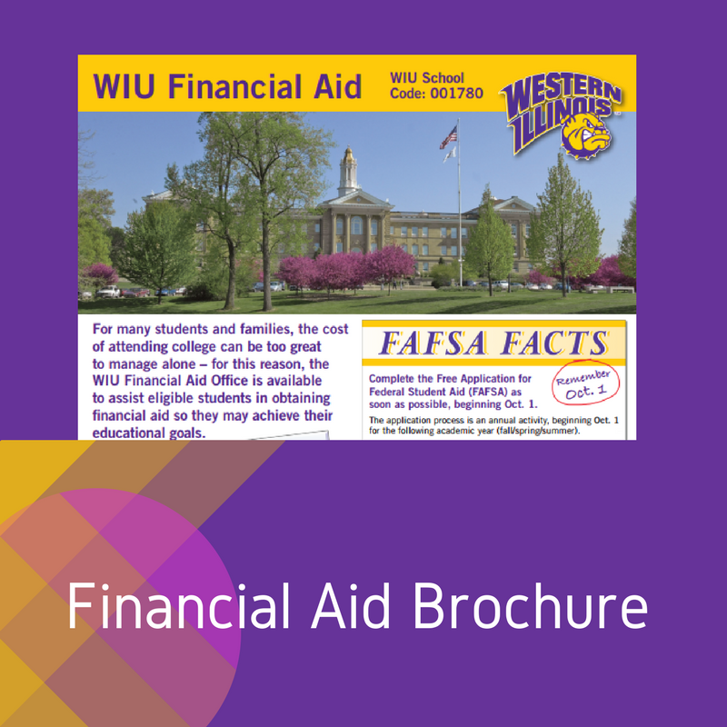 Getting started financial aid western illinois university link to wiu fa brochure ccuart Gallery