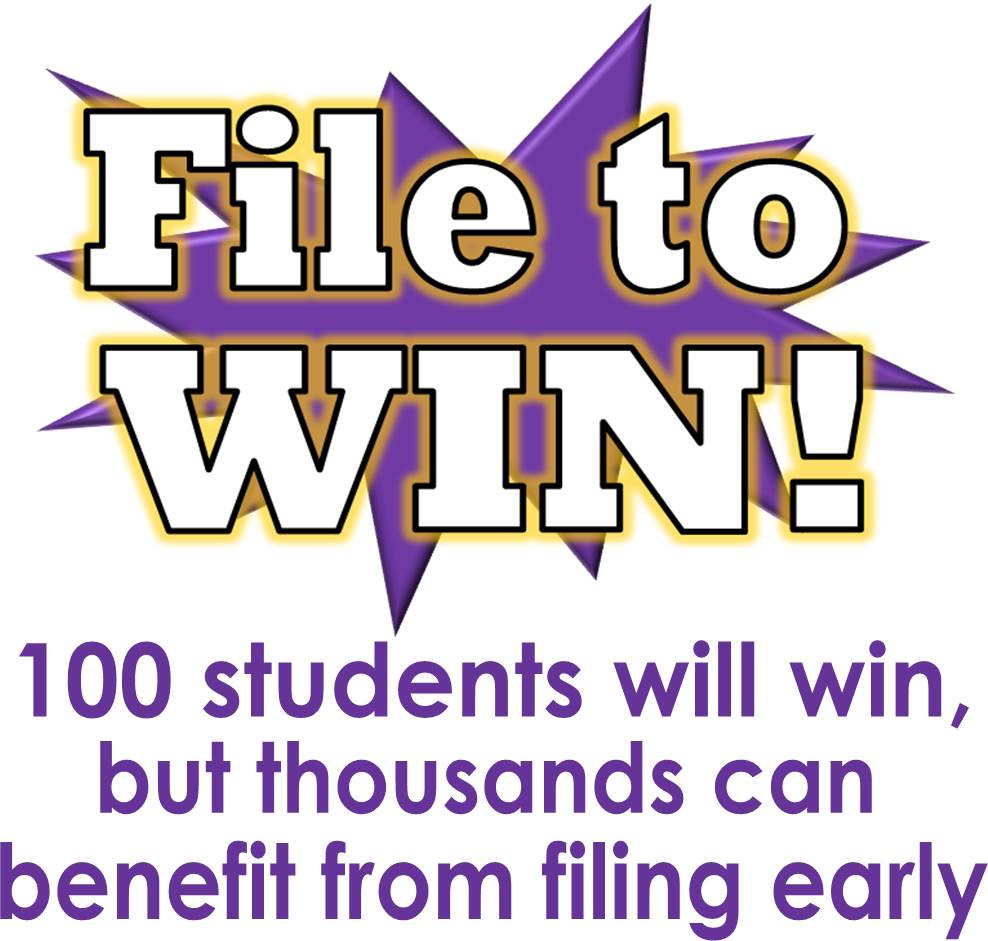 100 will win, but thousands can benefit from filing early