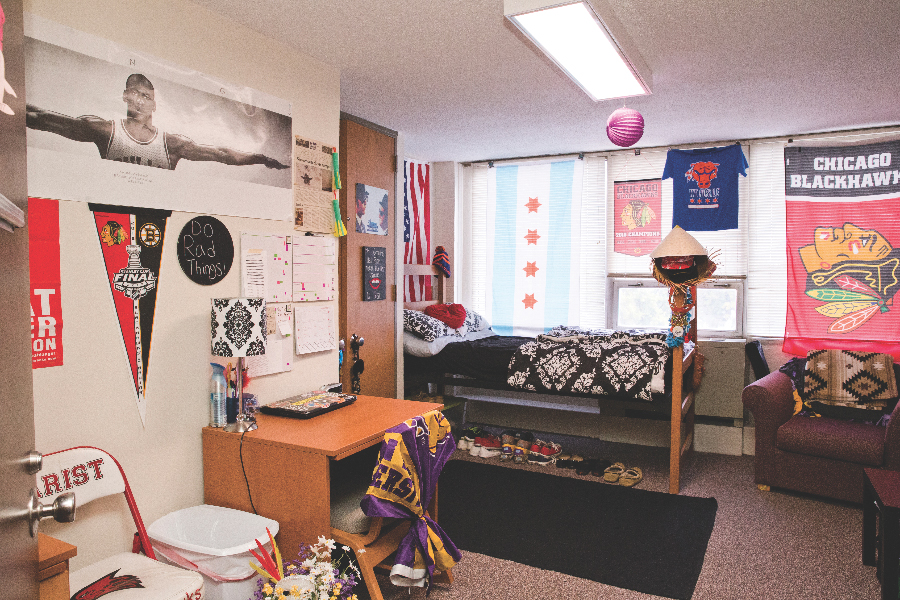 Lincoln washington housing western illinois university for Furniture university village