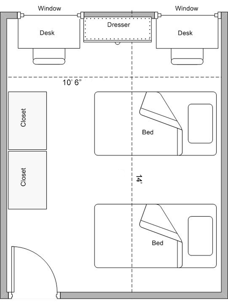 Corbin-Olson Single/Double Floorplan