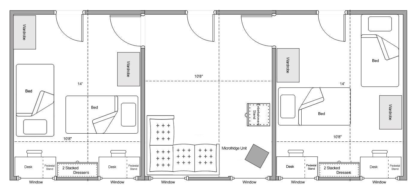 Corbin-Olson Suite Floorplan