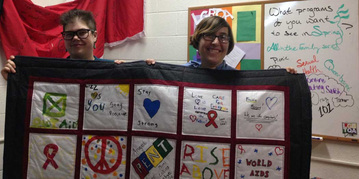 World AIDS Day Quilting