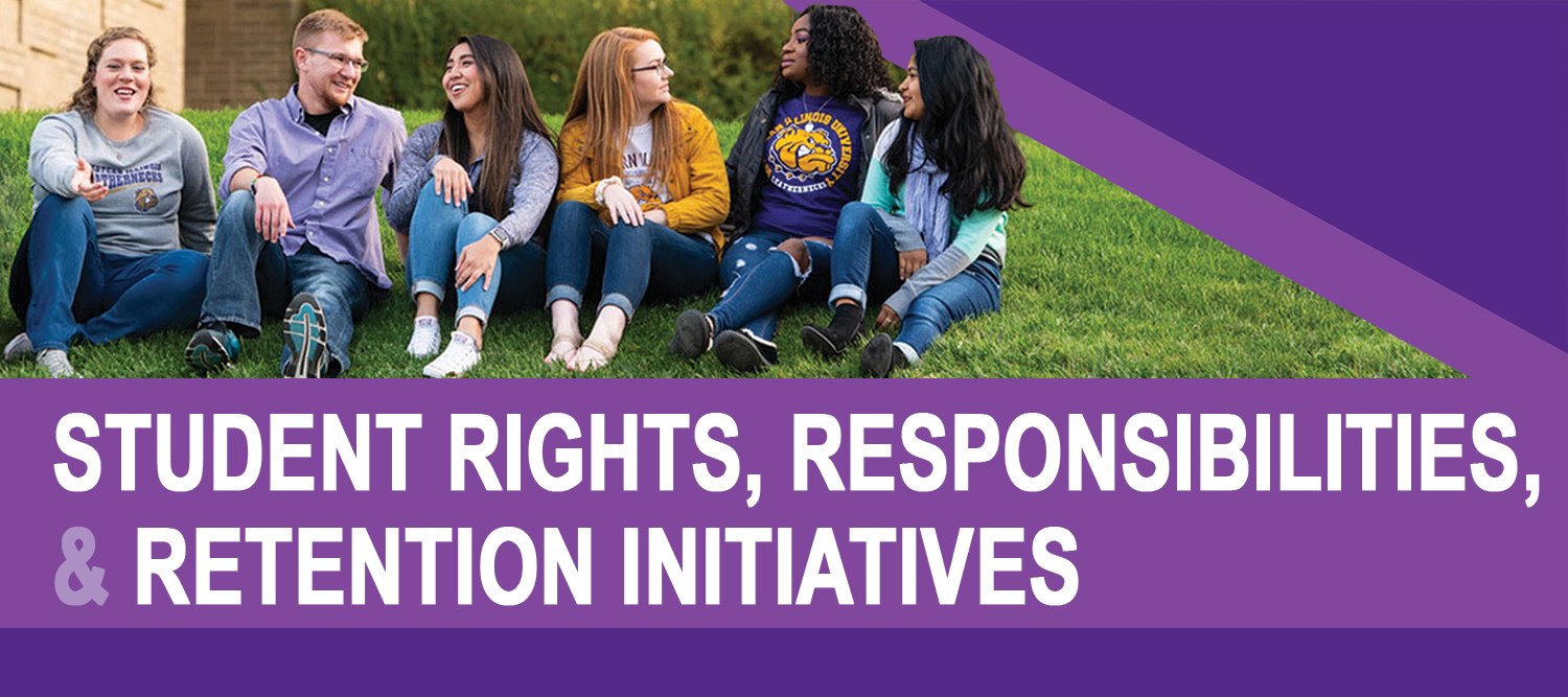 Student Rights, Responsibilities & Retention Initiatives header