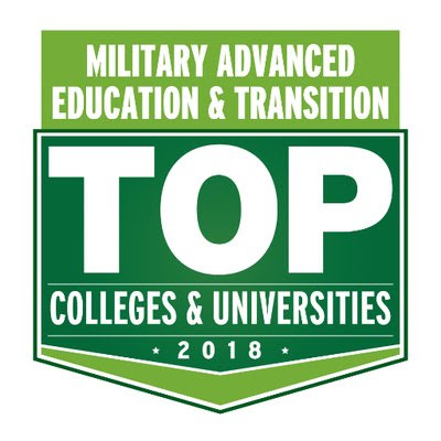 Military Advanced Education Top Colleges and Universities Award