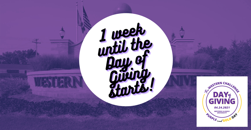 Two weeks until Day of Giving starts!