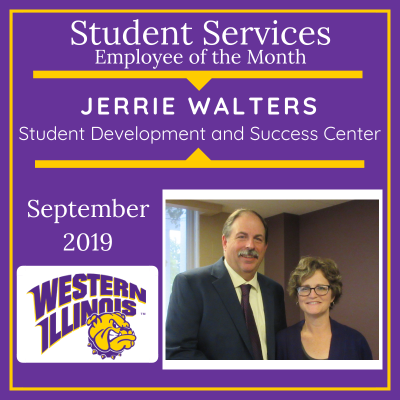 Employee of the Month: Jerrie Walters, Student Development and Success Center