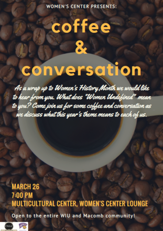 Coffee and Conversations Poster