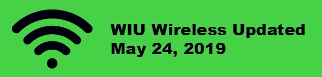 WIU Wireless updated May 24, 2019