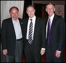 President Goldfarb, Dan Webb, and Gordy Taylor