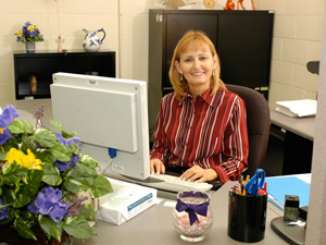 Terri Coplan, Civil Service Employee of the Year 2007