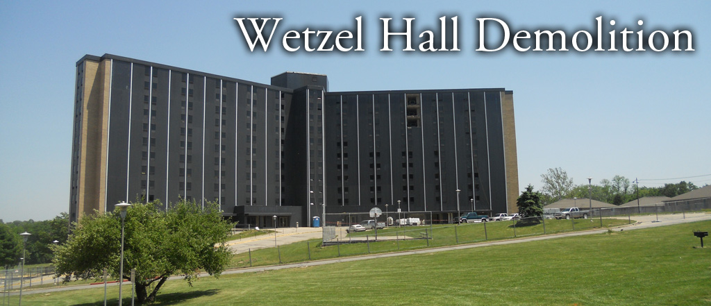 Wetzel Hall Demolition