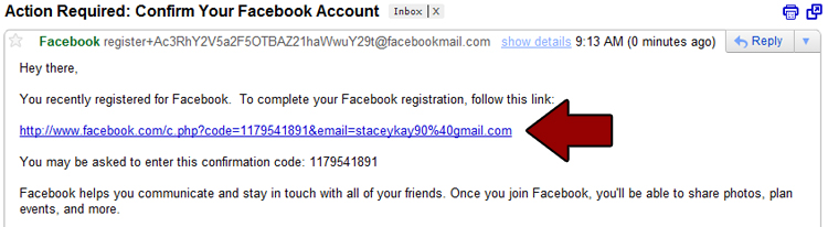 how to cancel newly crated facebook account