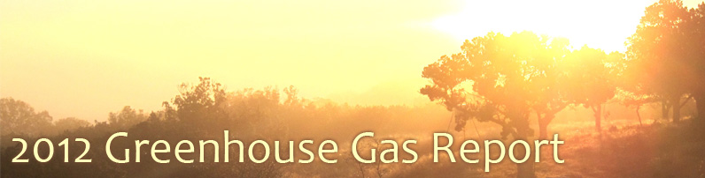 2012 Greenhouse Gas Report
