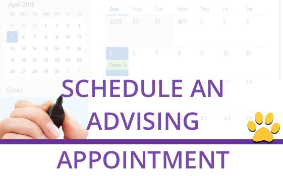 Schedule Advising Appointment.