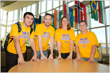 Students at WIU-Quad Cities