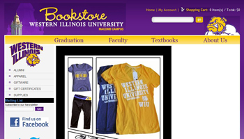 University Online Bookstore at WIU-Quad Cities