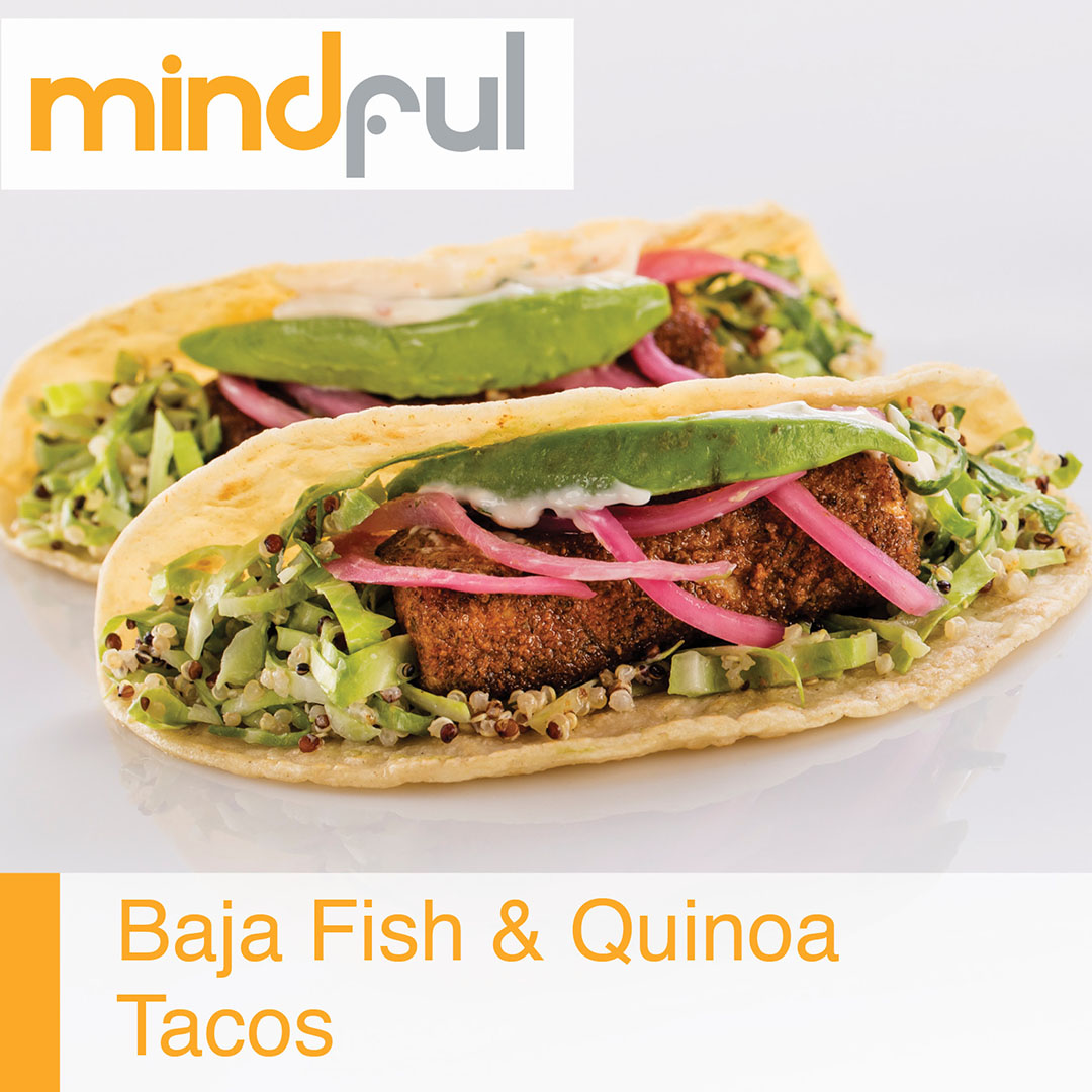 Baja Fish and Quinoa Tacos
